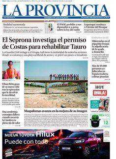 Esta es nuestra portada del 22 de julio. Lee todas las noticias en http://www.laprovincia.es/