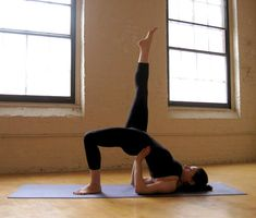 yoga sequences for slimmer thighs