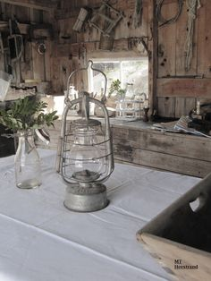 Sjöboden Old Lanterns, Oil Light, Interior Lighting, Strand, Primitive, Scandinavian, Glass Vase, Coastal, Lamps