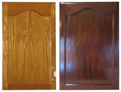 Gel Staining Kitchen Cabinets Instructions Using The Gel Stain We Also Used  For The Woodwork In The Rest Of The House. Try On A Drawer Front?