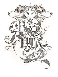 Brother -A print for groomsmen by Josh Kulchar Grand Rapids | MI | US