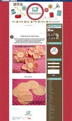 Cantinho do blog Layouts e Templates para Blogger: Personalização Blog + Loja Elo 7 + logo Renata Herandez