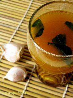 Garlic Rasam-will kill any cold