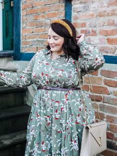 Floral Fashion, Curvy Fashion, Plus Size Fashion, Fat Fashion, Casual Dress Outfits, Curvy Outfits, Plus Size Maxi Dresses, Plus Size Outfits, Winter Dresses