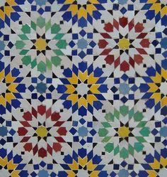Moorish tile, Zawaka Fassiya