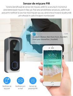 Noua sonerie inteligenta HomeFlow beneficiaza de un senzor de miscare, ceea ce inseamna ca vei fii anuntat in momentul in care detecteaza miscare in fata usii. O alta caracteristica misto la aceasta sonerie este ca poti seta sensibilitatea senzorului. Astfel poti primi notificari la cea mai mica miscare sau cand cineva incearca sa patrunda prin efractie in cadrul incaperii monitorizate. 😁  Sharing is caring! 😎 Galaxy Phone, Samsung Galaxy