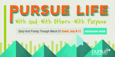 Pursuit 2014 was incredible. Sign up for #Pursuit2015 to be part of what's next. A conference for unmarried young adults, ages 18-39. This will be a life-changer. www.boundless.org/pursuit