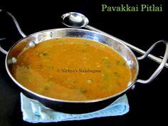 Pavakkai Pitlai | Bitter gourd sambar