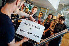 make a book. leave your mark. #BlurbRoadshow #BlurbWorkshopSeattle