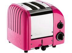 Dualit Classic Vario AWS Chilli Pink 2 Slot Toaster