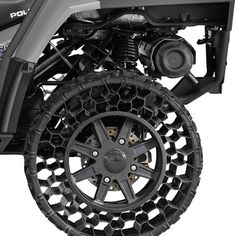 Non-Pneumatic Tires Finally Hit the Commercial Sector. Will Polaris Roll Over the Competition?
