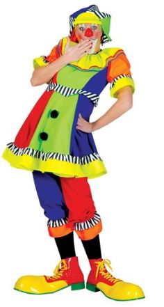 Ladies Spanky Stripes Clown Costume - Womens Large Funny Fashion http://www.amazon.com/dp/B003KPHK96/ref=cm_sw_r_pi_dp_CQn7ub0VN9PEW