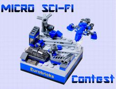 Micro Sci-Fi Contest by Si-MOCs, via Flickr