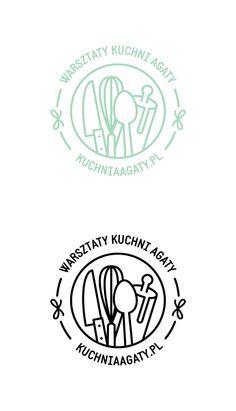 Warsztaty Kuchni Agaty logo on Behance