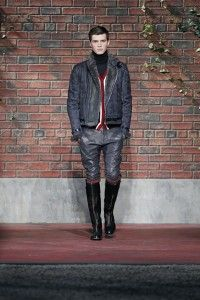 """Model """"Tommy Hilfiger Men's Fashion Show F/W 2012 New York"""" - http://olschis-world.de/ #TommyHilfiger #Menswear #fashion"""