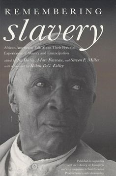 I have this collection. Absolutely amazing! →Remembering Slavery: African Americans Talk About « LibraryUserGroup.com – The Library of Library User Group