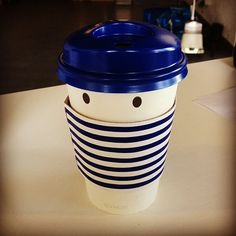Take away cup at Paris Baguette!