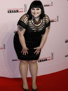 I LOVE Beth Ditto! Such an inspiring lady, she has come from a poor background and has made waves in the world of music and is an amazing role model for not being ashamed of her body and for being fierce, kooky and wonderful! Such a talent too!