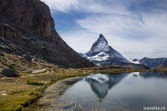 Riffelsee und das Matterhorn in Zermatt