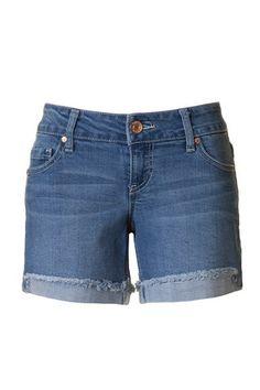 Boyfriend Jean Shorts - Medium Wash – Hazel & Olive