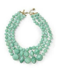 Maxi Collar Color Menta