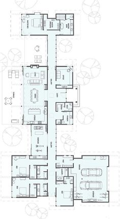 New house plans modern ranch square feet Ideas Ranch House Plans, New House Plans, Dream House Plans, Modern House Plans, House Floor Plans, The Plan, How To Plan, Stillwater Dwellings, Casa Patio