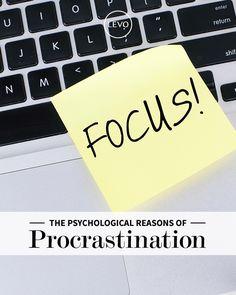 The Truth About Procrastination | Levo | Procrastination
