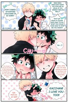 Tododeku is still the superior ship. My Hero Academia Shouto, Hero Academia Characters, Bakugou Manga, Deku X Kacchan, Syaoran, Fanarts Anime, Cute Gay, Boku No Hero Academy, Anime Ships
