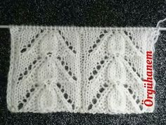 Der Neuen Alle The model of today& model elti jealous knit ladies vest model. Lace Knitting Stitches, Baby Knitting Patterns, Baby Patterns, Stitch Patterns, Knitting Videos, Crochet Videos, Free Knitting, Knitting Socks, Crochet Hooded Scarf