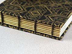 Feather Cards, Paper Book, Handmade Books, Gold Art, Art Deco Design, Book Making, Paper Decorations, Letterpress, Black Gold