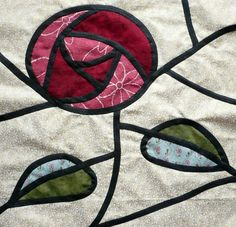 Happy Free Pattern Friday! Get the FREE Patchwork Stained Glass Window Block today on Craftsy