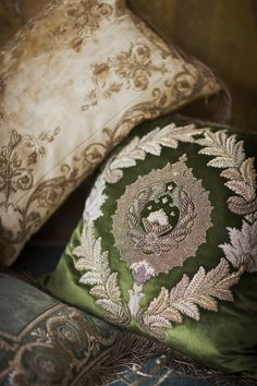 Rossini, Calista and Sophia cushions.