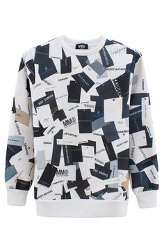 WILL FRY expensive print crew neck sweatshirt Moda 4bef0a2a784