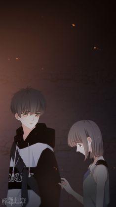Love Never Fails Manga Anime Cupples, Sad Anime, Anime Chibi, Kawaii Anime, Anime Guys, Sweet Couple Cartoon, Cute Chibi Couple, Anime Love Couple, Anime Couples Drawings