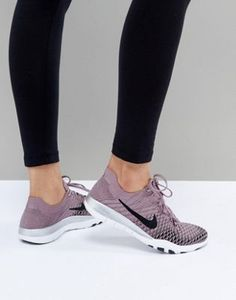Nike Training - Free Flyknit - Baskets - Taupe