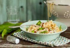 7-féle 30 perces tészta, amit nem tudsz nem imádni Spagetti Recipe, Pasta Salad, Love Food, Quiche, Potato Salad, Bacon, Pizza, Dishes, Cooking