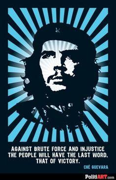 Che Guevera quote poster