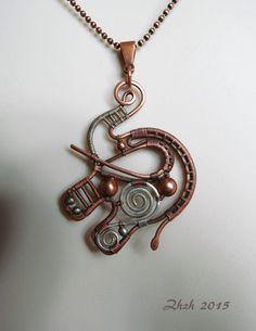 Reversible Elephant Pendant/Necklace
