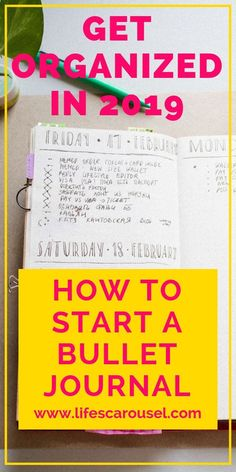 How to start a bullet journal in 2020 for complete beginners. This guide will help you start a bullet journal with awesome bullet journal ideas for beginners. How To Bullet Journal, Bullet Journal Layout, Bullet Journal Inspiration, Bullet Journals, Beginner Bullet Journal, Filofax, Journal Pages, Journal Ideas, Goal Journal