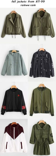 fall jackets 2017 - romwe.com