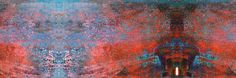 abstract expressionism red | Wide Screen Red Door Abstract Expressionism by * aegiandyad