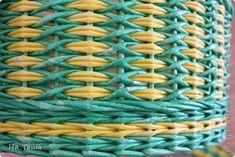 Поделка изделие День рождения Плетение Шкатулка для девочки Трубочки бумажные фото 3