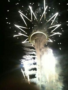 New Years at the Space Needle. Seattle,  WA.