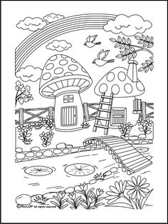 20 Coloring Pages For Grownups