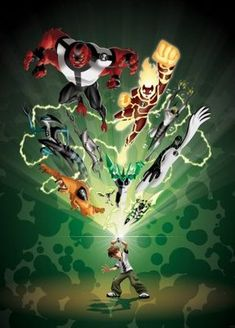 Ben 10 poster, t-shirt, mouse pad Ben 10 Alien Force, Aliens, Ben 10 Comics, Ben 10 Ultimate Alien, Generator Rex, Ben 10 Omniverse, Ben Tennyson, Black Anime Characters, Cartoon As Anime
