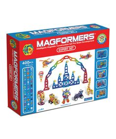 Take a look at this Expert Magnetic Set by Magformers on #zulily today!- Owen has a few of these already, and they're awesome. We will eventually have a reasonable collection. Amazon carries them, too. -