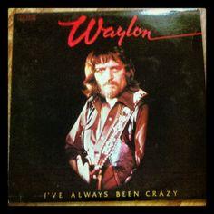 Picked this up today in the dollar bin across town. Happy Birthday Waylon. #VINYL