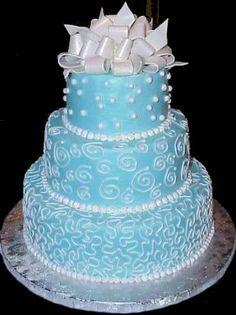 Camo Wedding Dresses: Tiffany Blue Wedding Shower Cakecupcakes ...