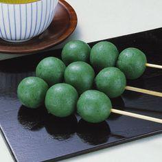 笹団子の作り方|料理レシピ[ボブとアンジー] ... 春菊団子