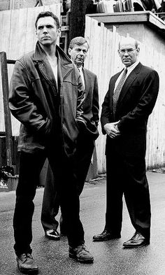 """Pinner writes, """"Krycek, The Smoking Man, and Assistant Director Skinner. Love love the x files!"""""""